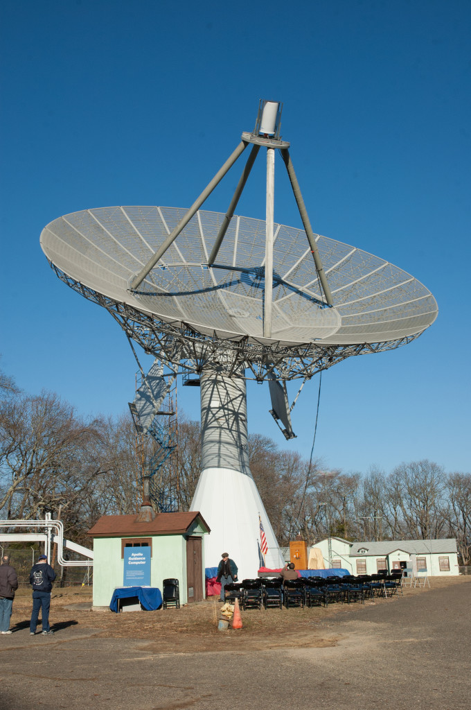 The TIROS Dish as it Appears Today [photo: Nancy J. Graziano]