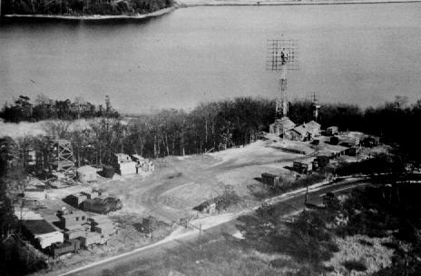 RADAR Dish at Camp Evans Circa 1946